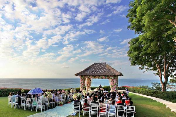 venue wedding catering services bali