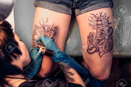 tattoo process bali tattoo seminyak
