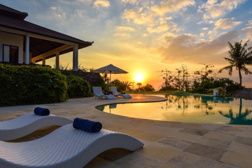 Bali Villas Sunset