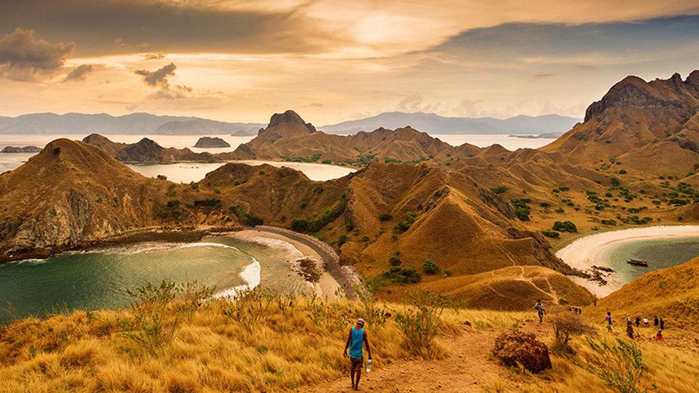 Padar Island Tour, The Best Place to Enjoy the Labuan Bajo Sea around