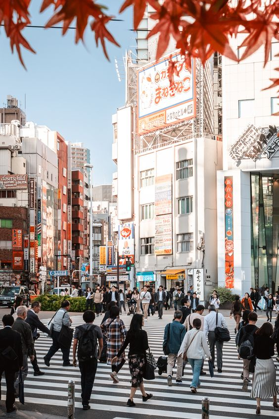 Interact with people in Tokyo with ease