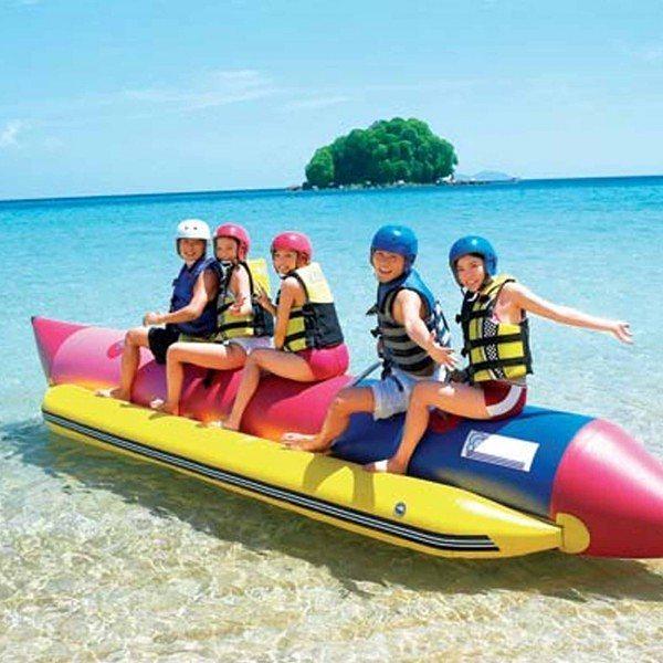 Jump in Adventurous Water Sports